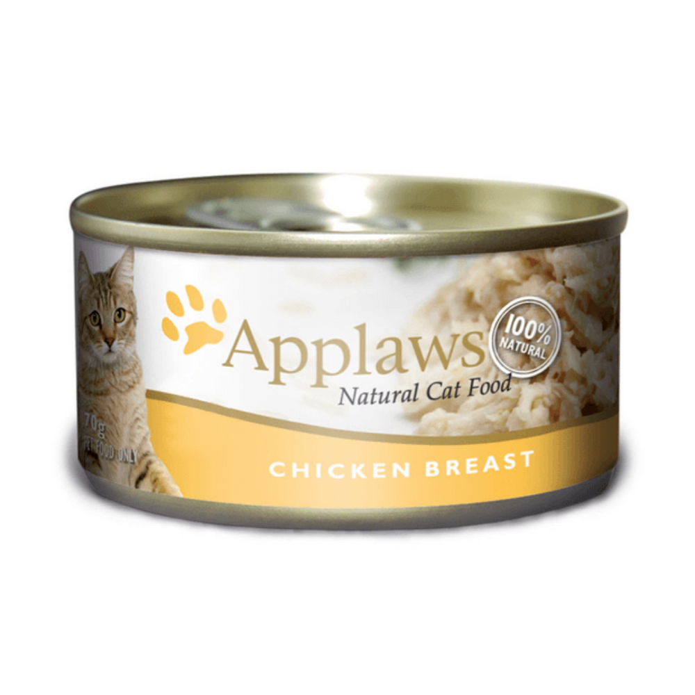 Applaws Adult Wet Cat Food - Chicken Breast (70g x 12 cans)