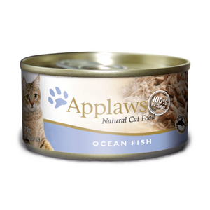 Applaws Adult Wet Cat Food - Ocean Fish (70g x 12 Cans)