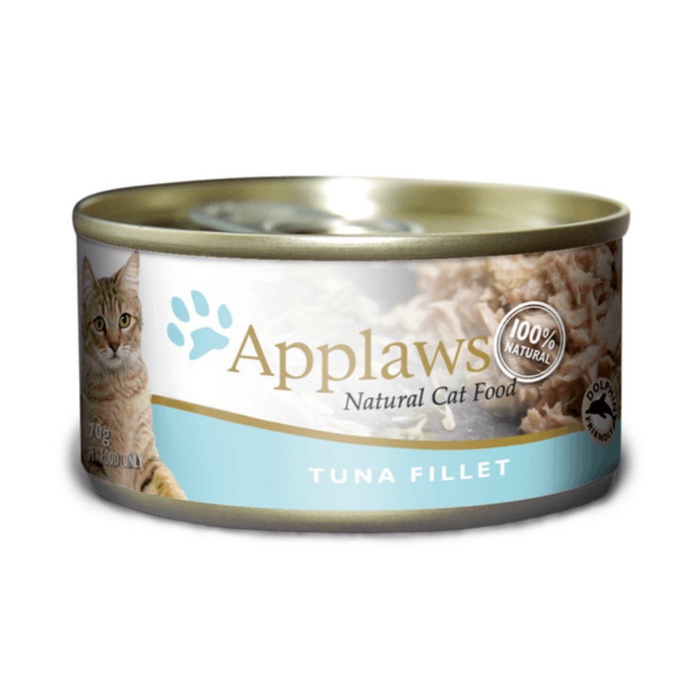 Applaws Adult Wet Cat Food - Tuna Fillet (70g x 12 Cans)