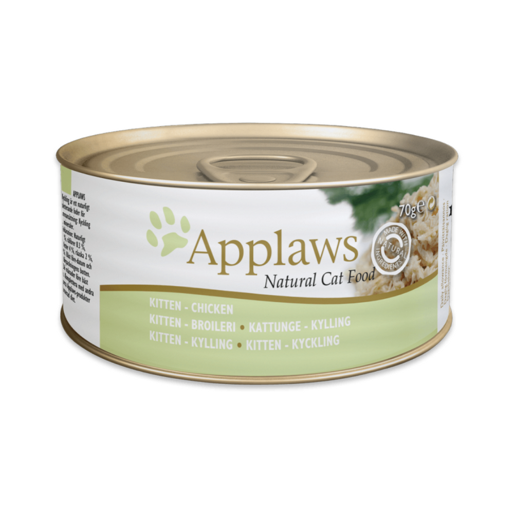 Applaws Kitten Food - Chicken Breast - 70g (Pack of 12)