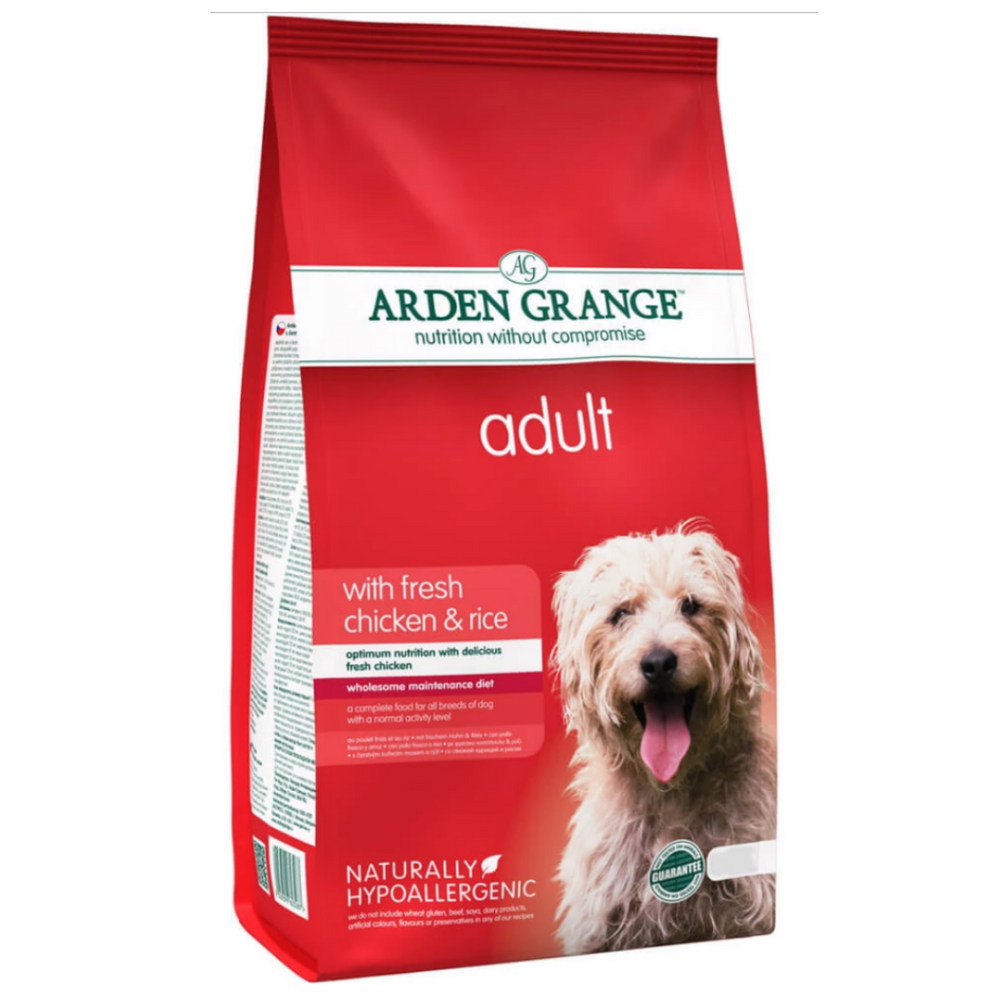 Arden Grange Adult (Small and Medium Breed) - Fresh chicken and Rice (Multiple Sizes)