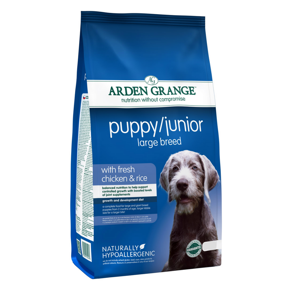 Arden Grange Puppy/Junior (Large Breed) - Fresh Chicken & Rice