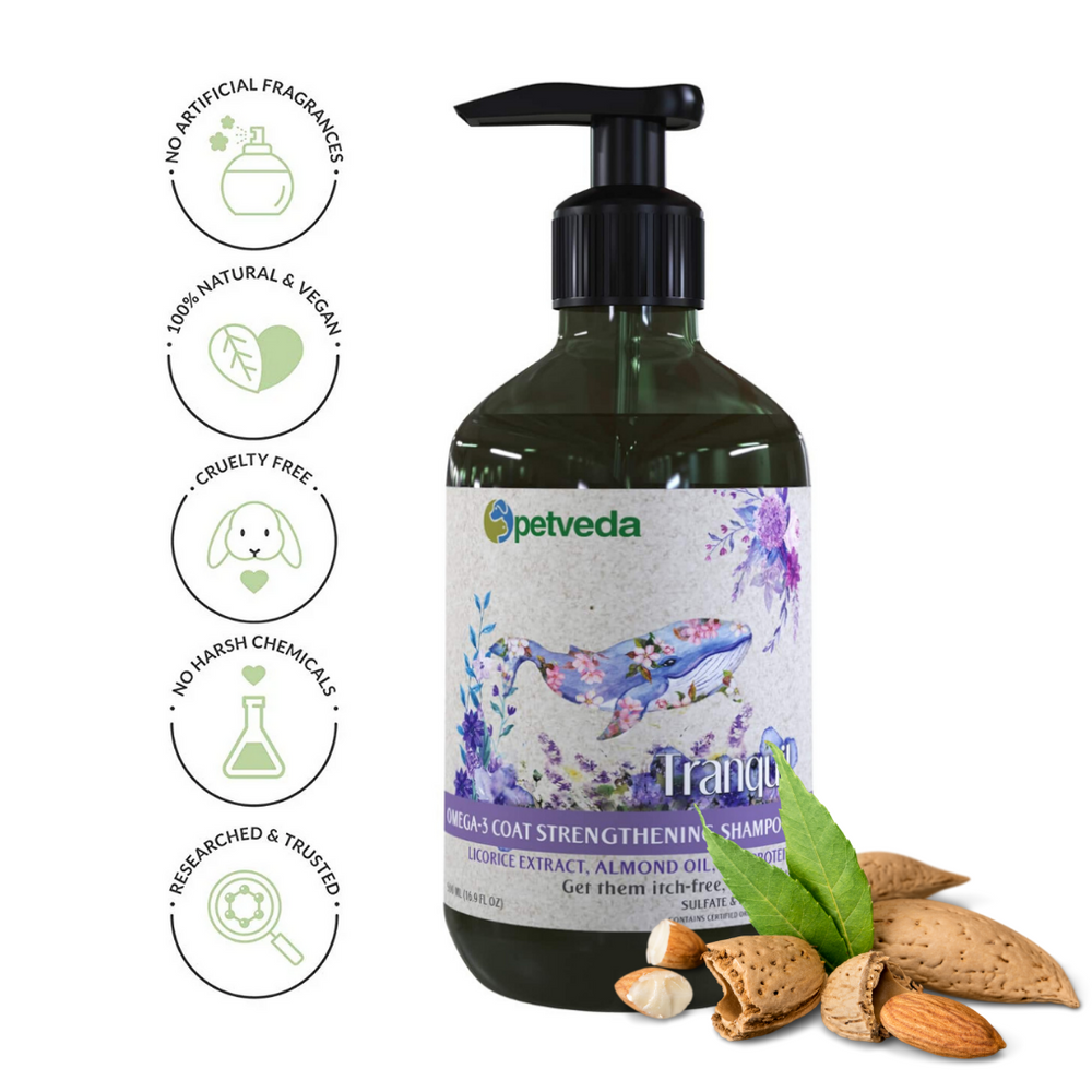 Petveda - Tranquil - Coat Strengthening Shampoo - 500ml