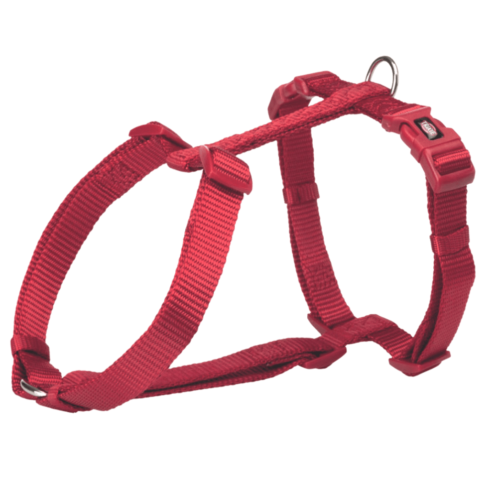 Trixie Premium H-Harness - Red