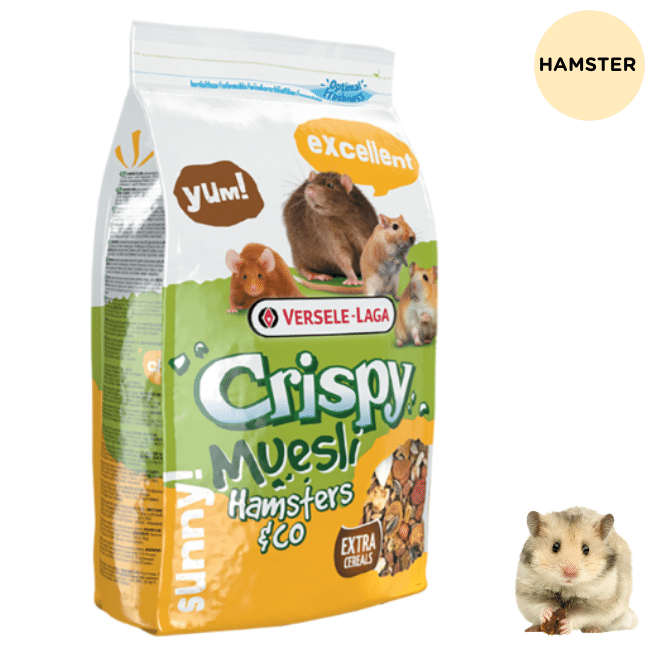 Versele Laga Crispy Muesli for Hamsters