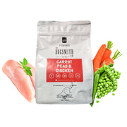 Dogsmith & Co. - Chicken, Carrot and Peas Dog Biscuits - 280 gms