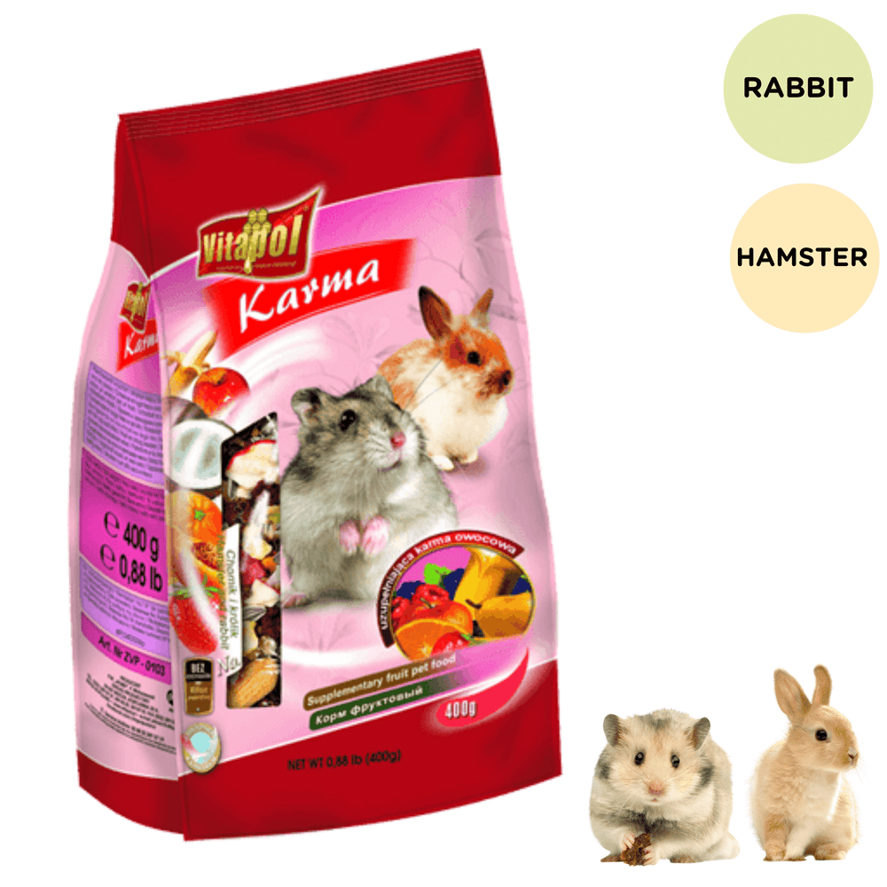 Vitapol Fruit Food Economic For Rabbit And Hamsters