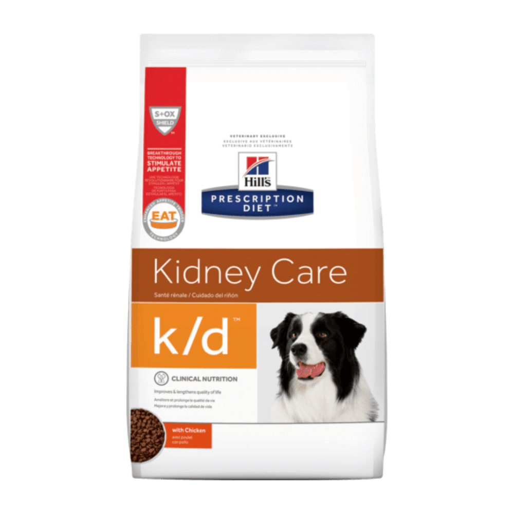 Hills Prescription Diet - Dry Dog Food - Kidney Care k/d Canine