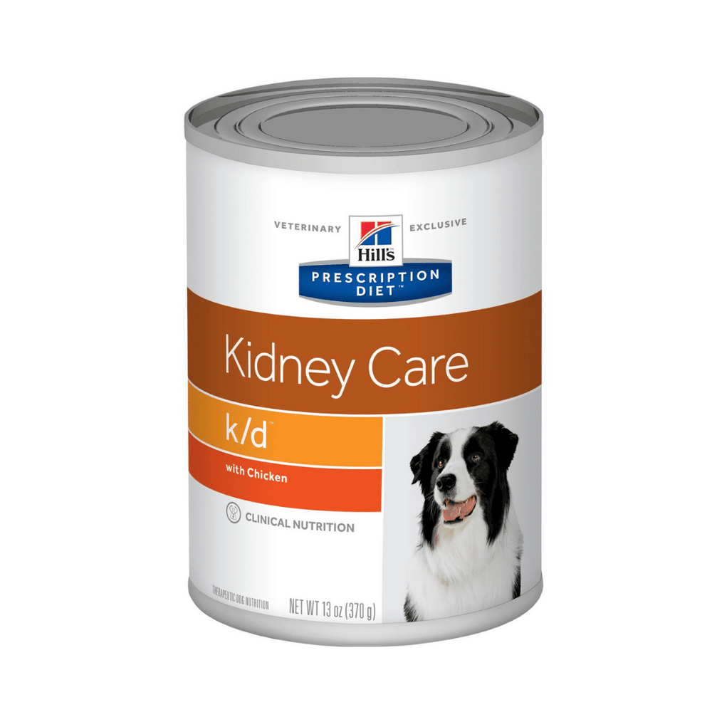Hills Prescription Diet - Wet Dog Food - Kidney Care k/d Canine (370g)