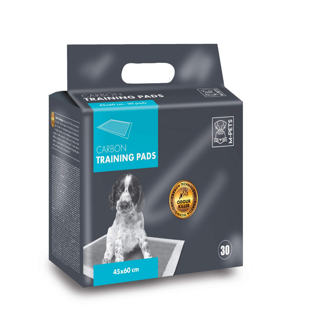 M-Pets Carbon Training Pads - 30 Pcs - 45x60cm