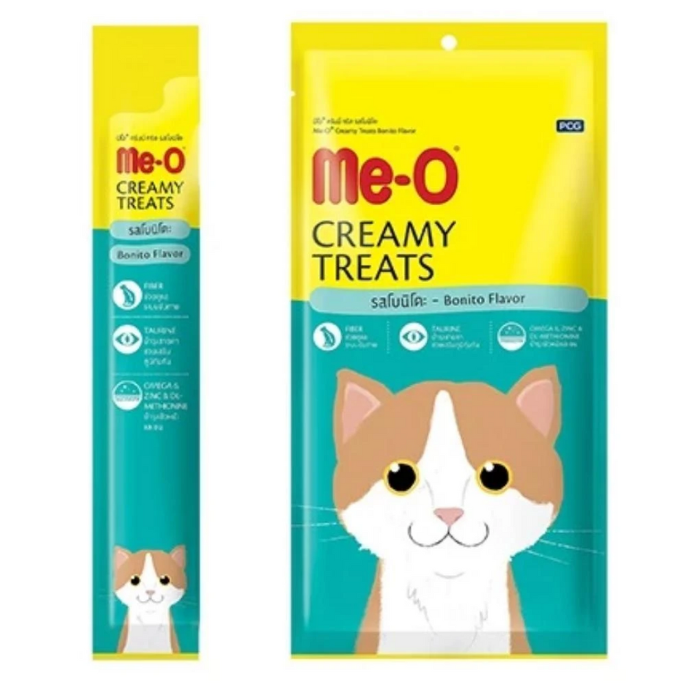 Me-O Creamy Cat Treats - Bonito