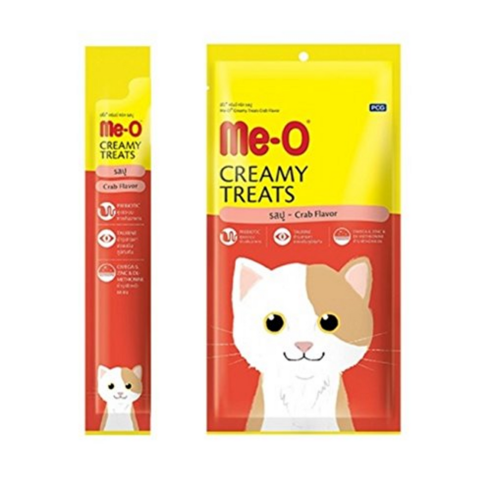 Me-O Creamy Cat Treats - Crab