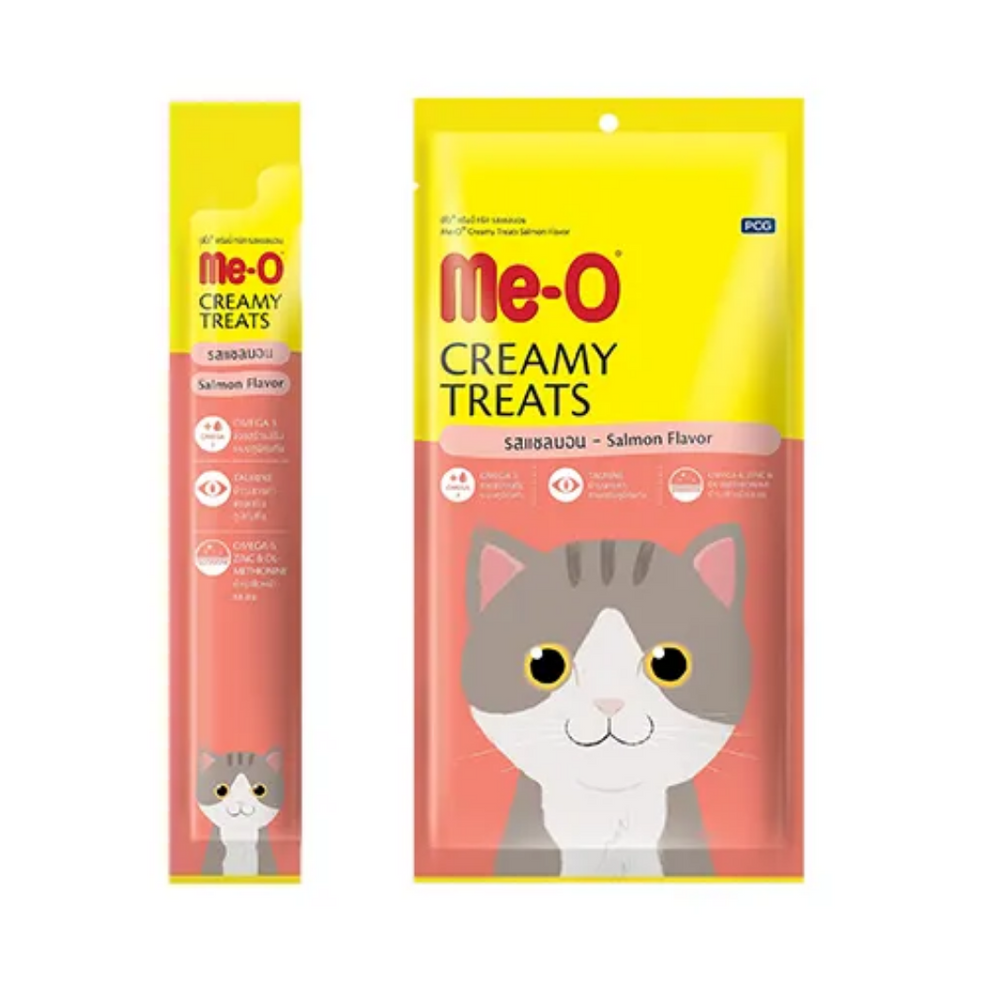 Me-O Creamy Cat Treats - Salmon