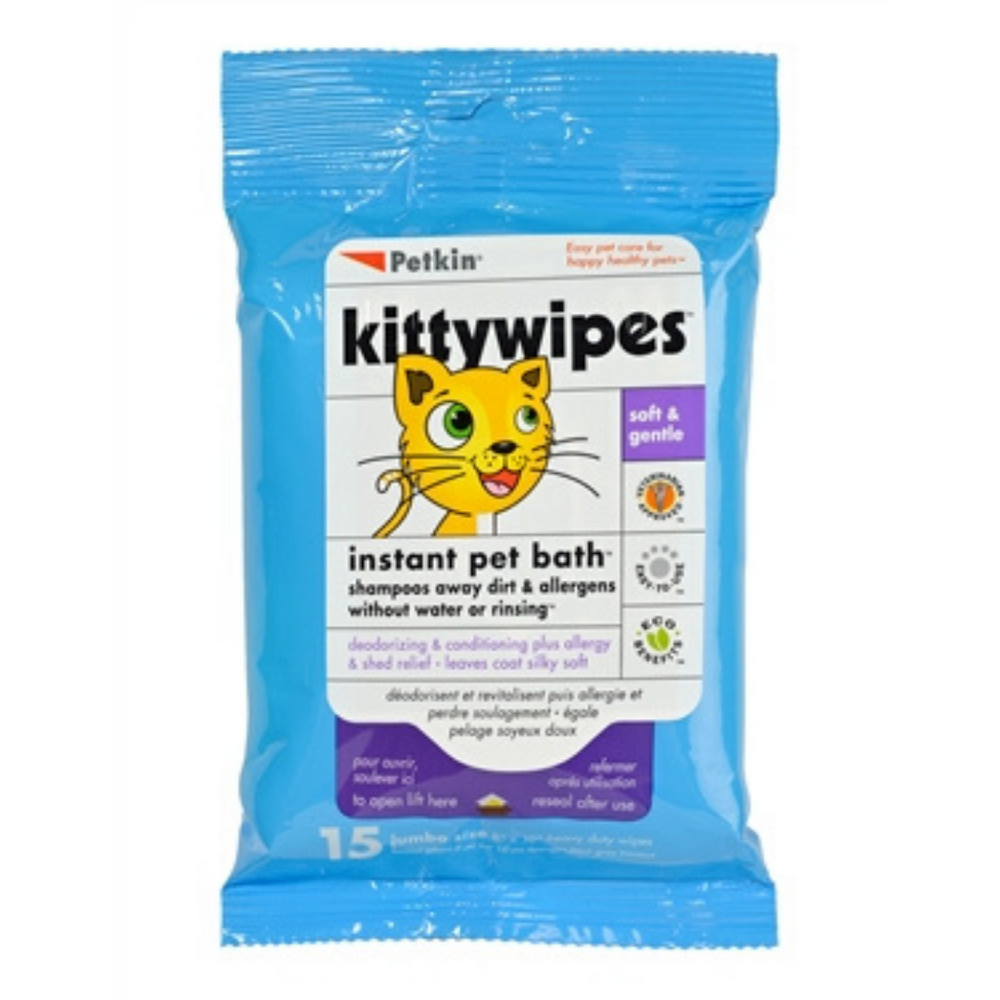 Petkin - Kittywipes (15pcs)