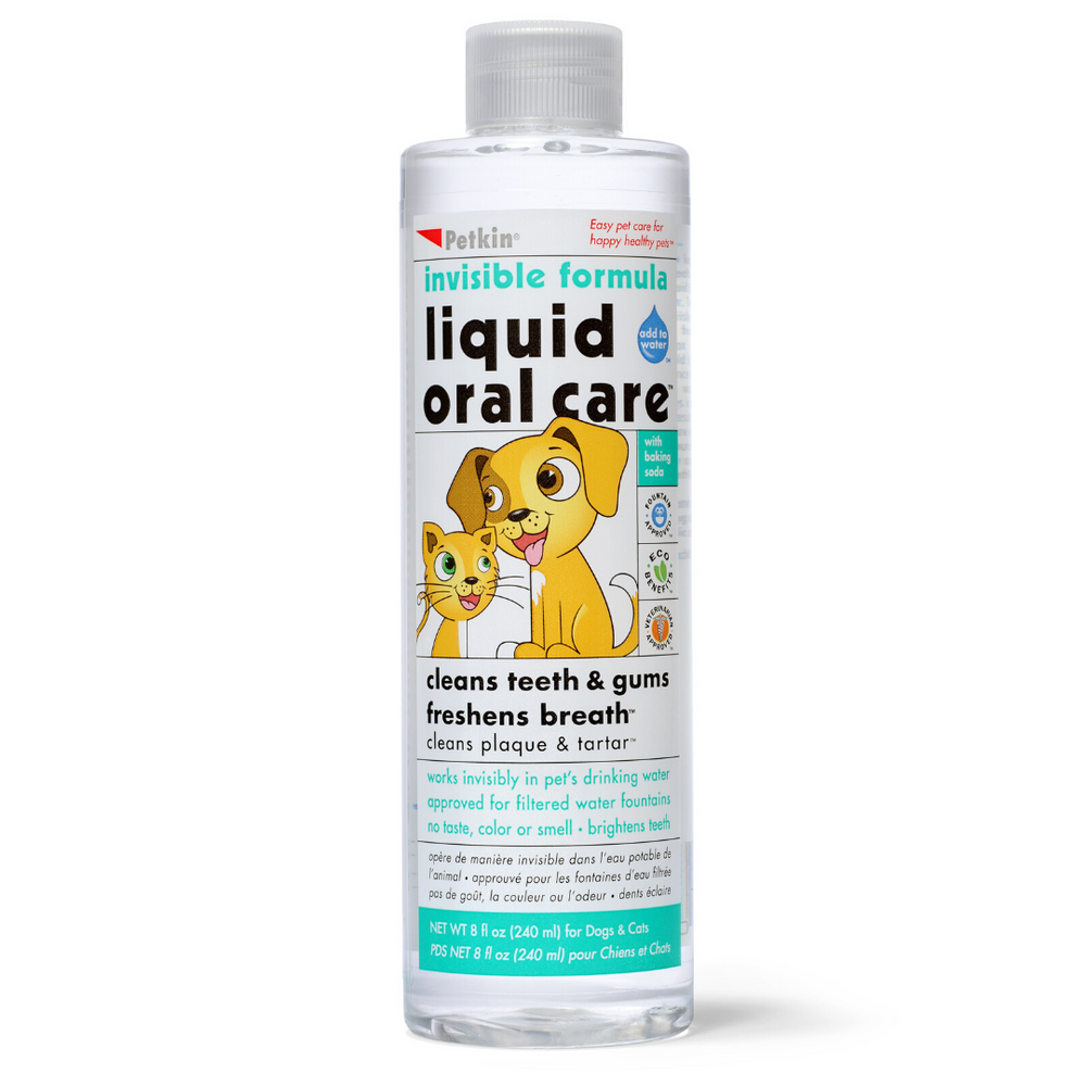 Petkin - Pet Liquid Oral Care Invisible formula - 240ml