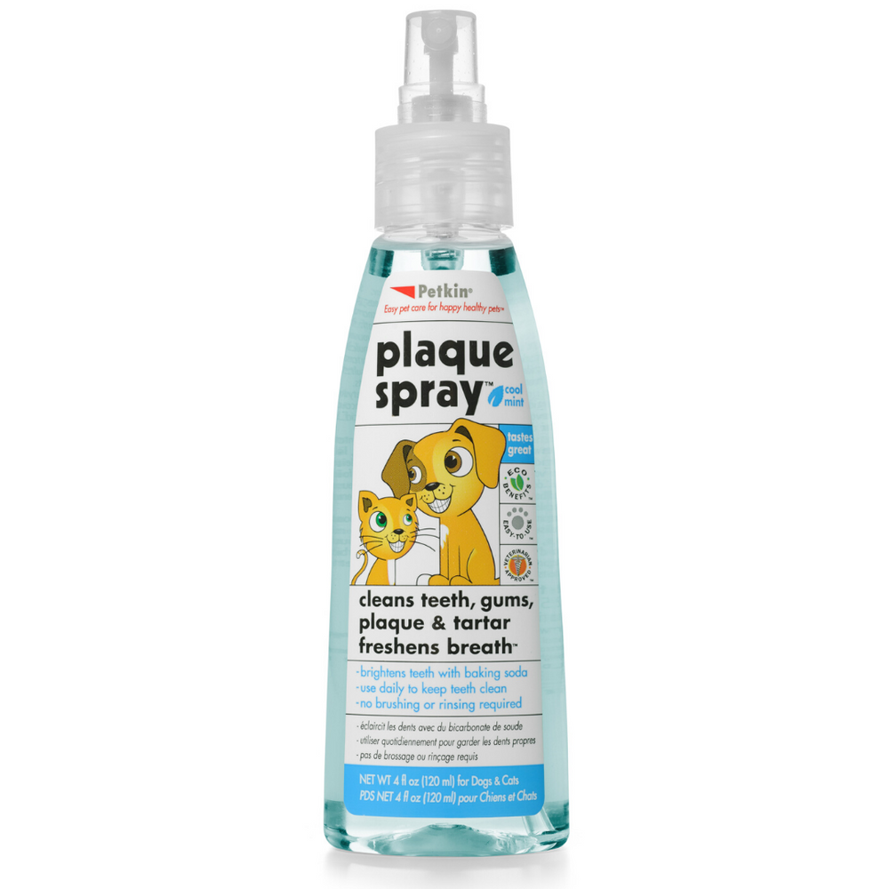 Petkin - Plaque Spray Cool mint for Cats & Dogs - 120ml