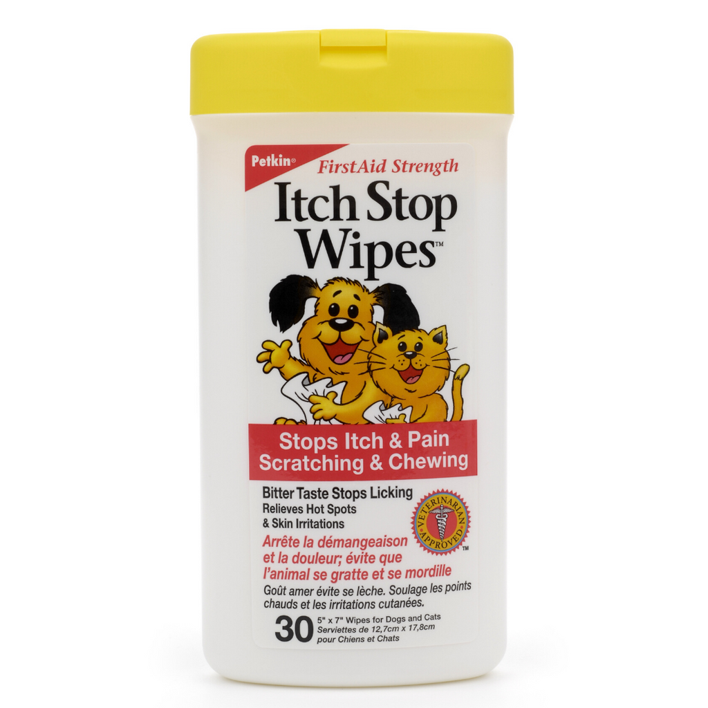 Petkin Itch Wipes 30 wipes