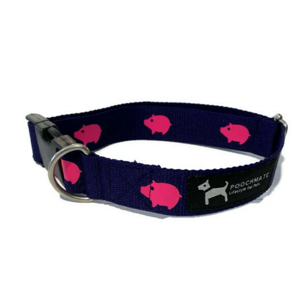 PoochMate Collar - Cotton Webbing Babe