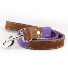 PoochMate Leash - Purple Felt