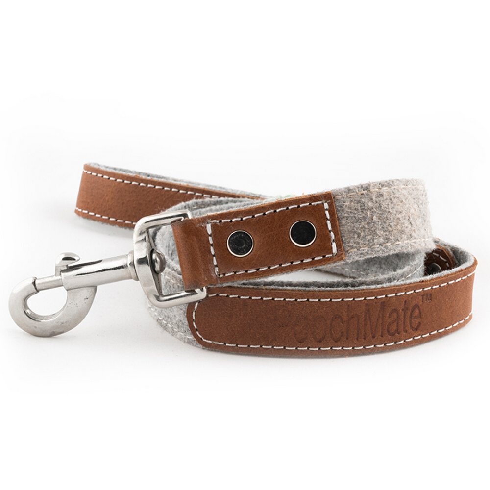 PoochMate Leash - Slate Felt