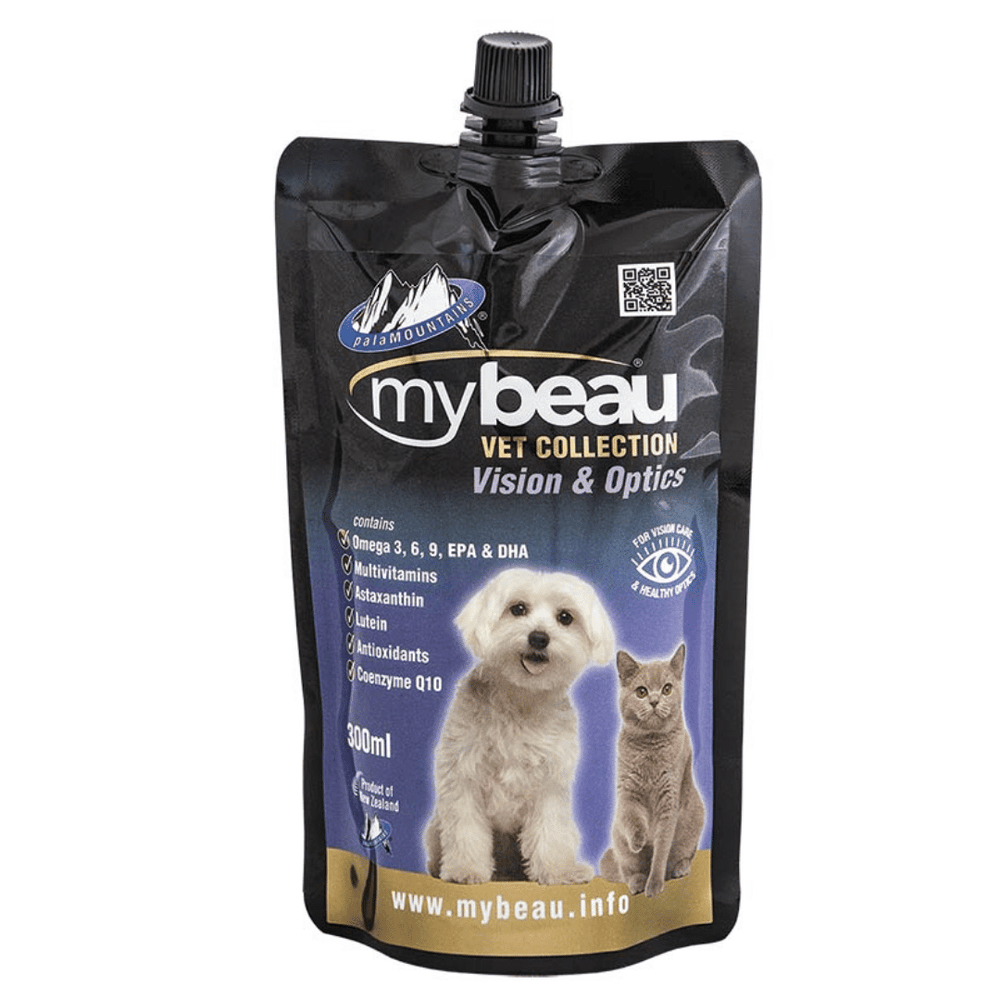 My Beau Dog & Cat Supplement - Vision & Optics 300ml