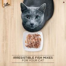 Sheba Wet Cat Food - Fish with Dry Bonito Flake (35g x 12 Pouches)