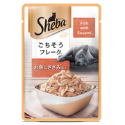Sheba Wet Cat Food - Fish with Sasami (35g x 12 Pouches)