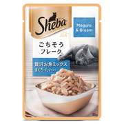 Sheba Wet Cat Food - Maguro & Bream (35g x 12 Pouches)