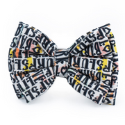 Stars and Snowflakes Digital Print Cotton Bow Tie - Bark, Slurp, Live