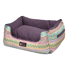 Mutt Of Course Lounger Bed - Aztec