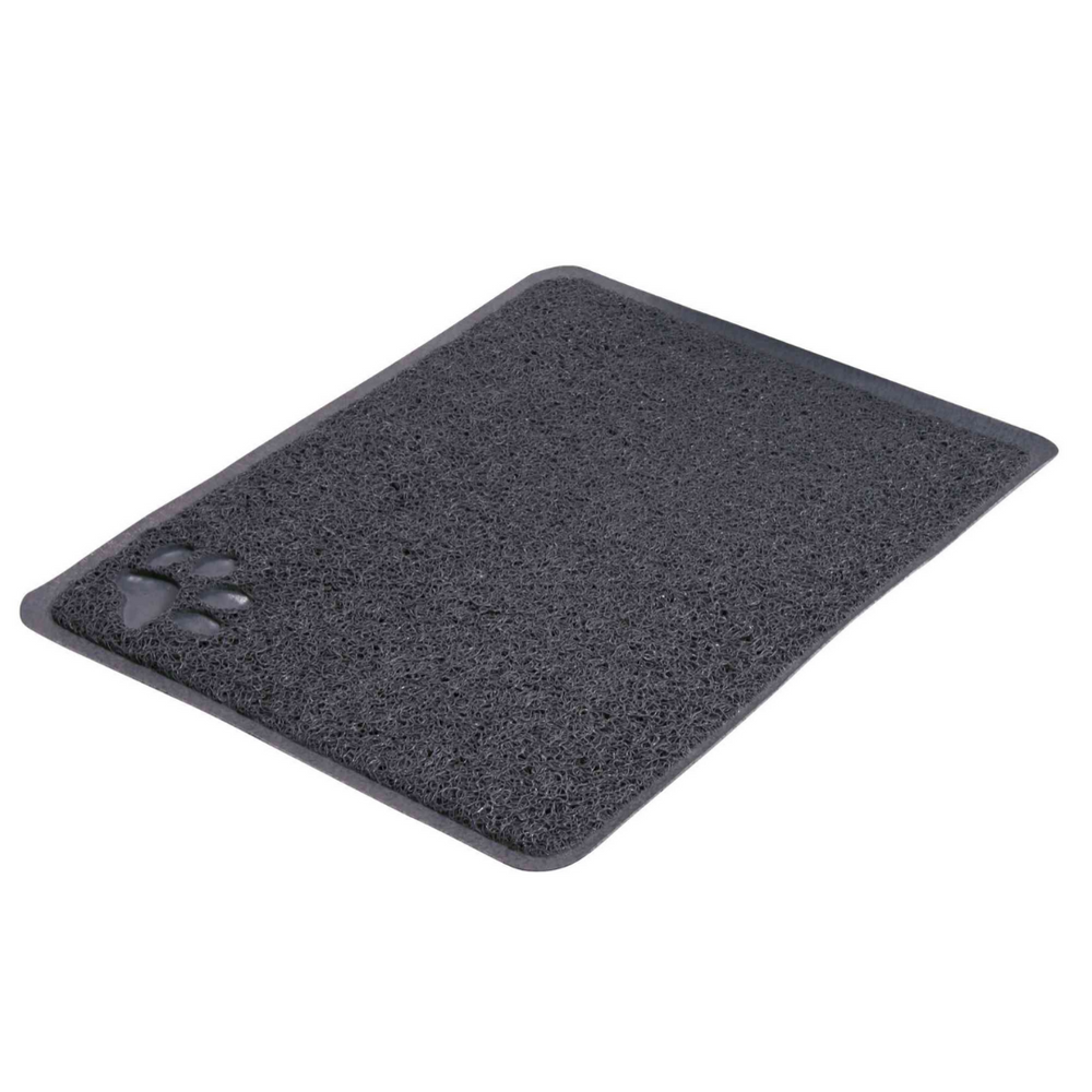 Trixie - Cat Litter Tray Mat, Dark Grey