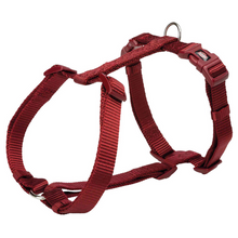 Trixie Premium H-Harness - Burgundy