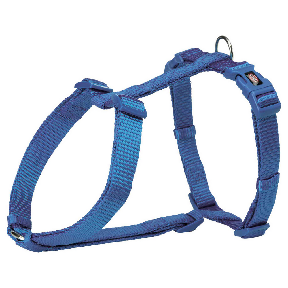 Trixie Premium H-Harness - Royal Blue