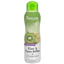 Tropiclean Kiwi & Cocoa Butter Pet Conditioner, Moisturising - 355ml