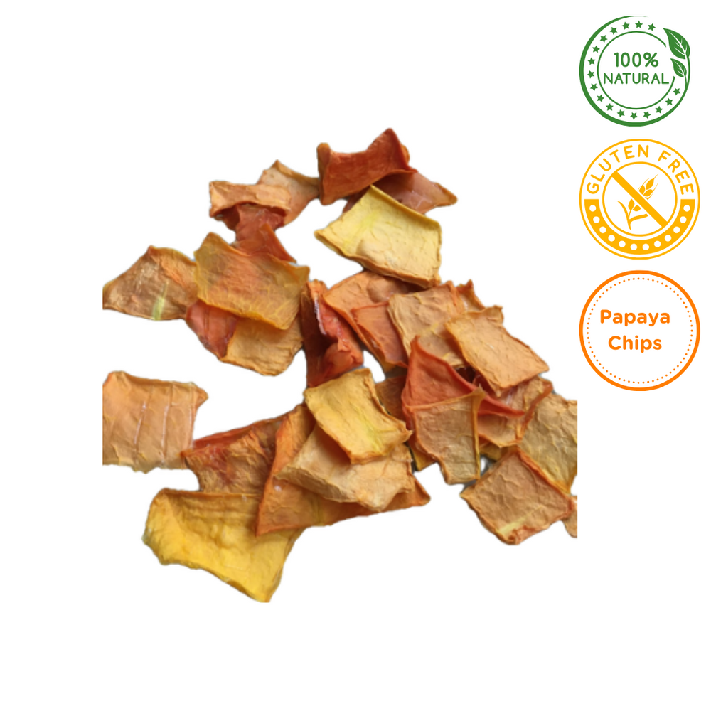 The Barkery - Papaya Chips - 100g