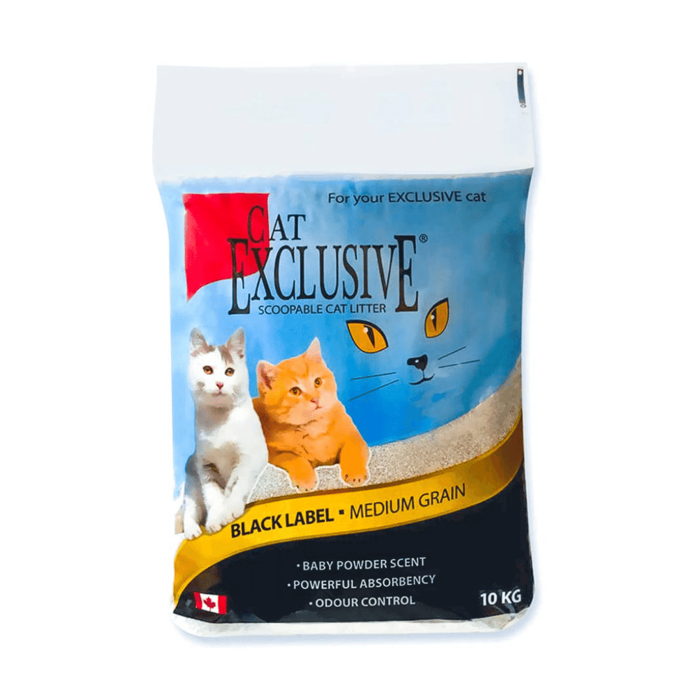 Intersand Cat Exclusive - Clumping Cat Litter - 10 kg