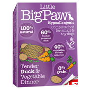 Little BigPaw Tender Duck & Vegetable Dinner for Dogs (7 Pack) - 150g