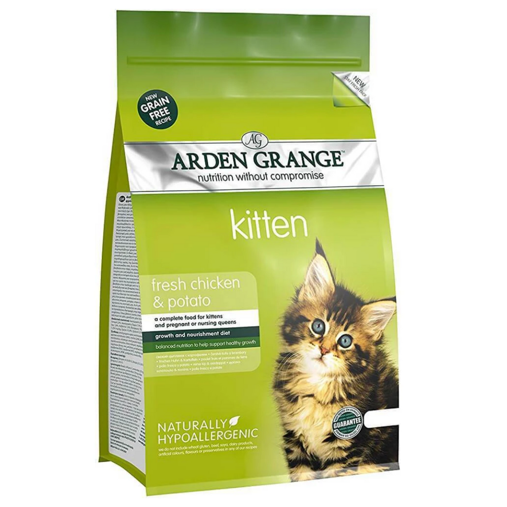 Arden Grange Grain Free Food for Kittens - Fresh Chicken & Potato