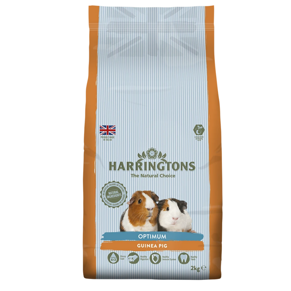 Harringtons Small Animal Optimum Guinea Pig Food - 2kg