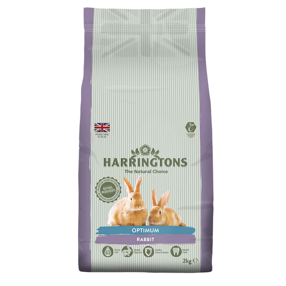 Harringtons Small Animal Optimum Rabbit Food - 2kg