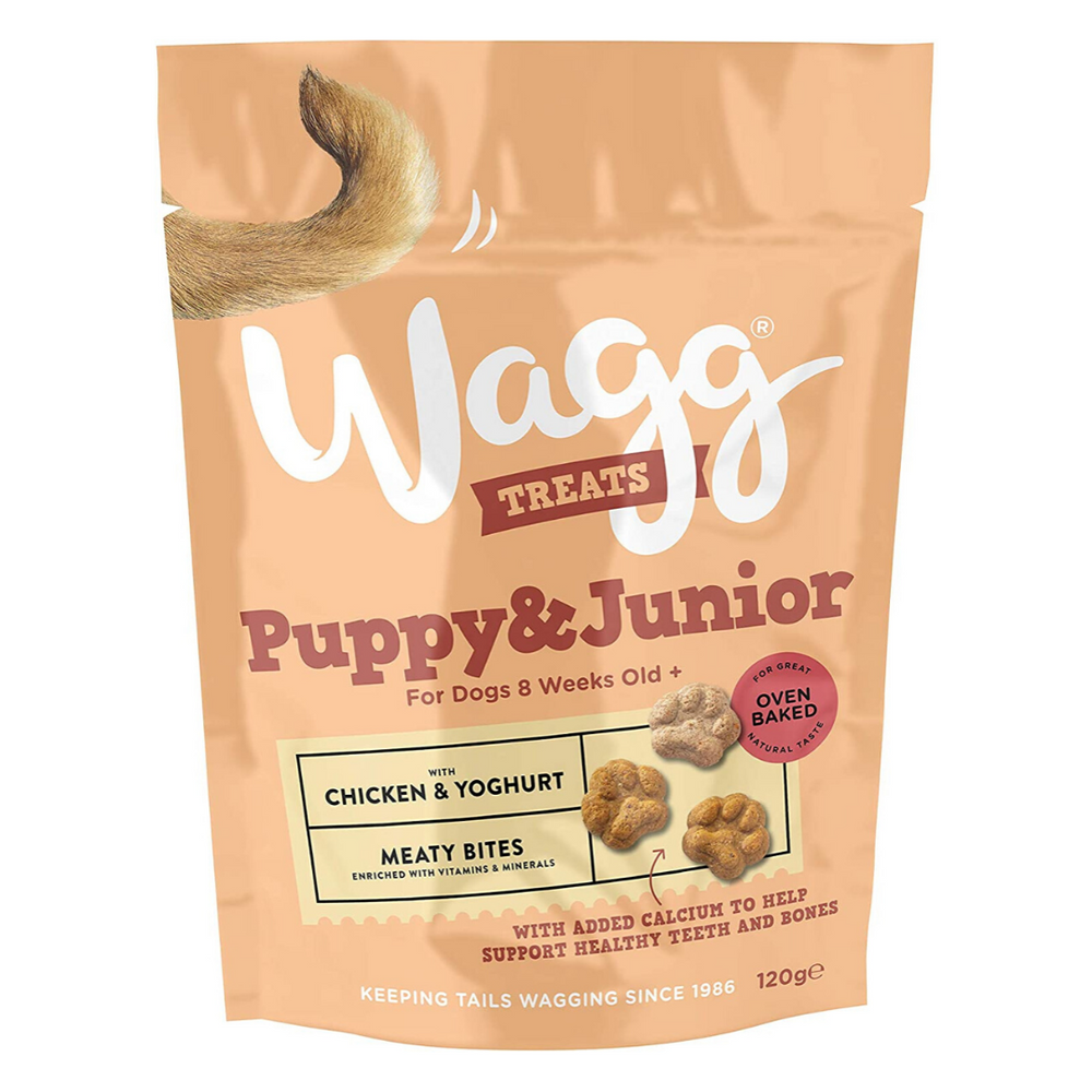 Wagg Puppy & Junior - Chicken & Yoghurt