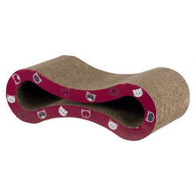 Trixie Mimi Cat Scratching Wave - Wine Red