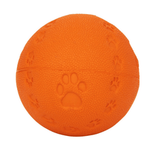 Trixie Natural Rubber Toy Dog Ball with Sound