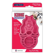 Kong ZoomGroom Raspberry for Dogs