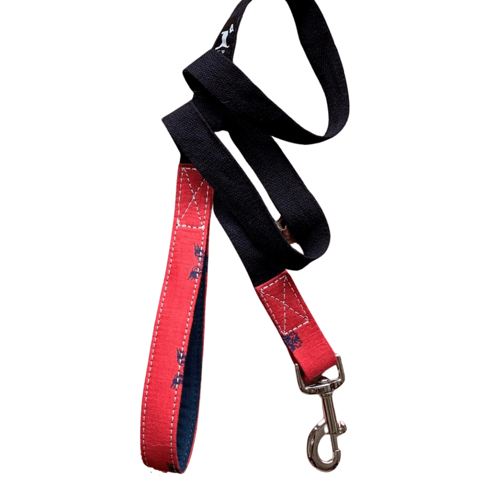 PoochMate Leash - Red Chirpy Leash