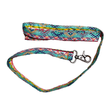 Stars and Snowflakes Cotton Leash - Geometrical