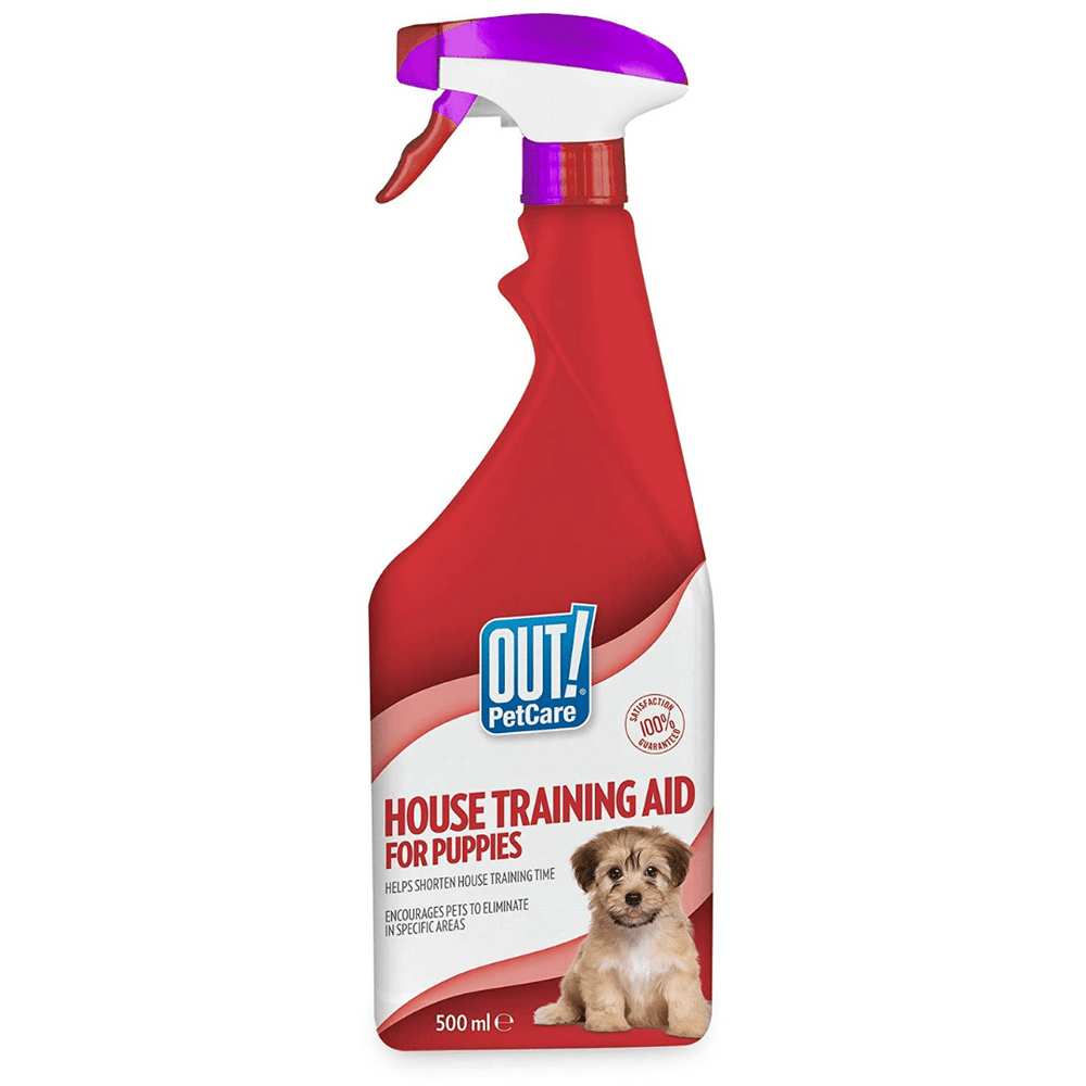 Out! Petcare House Training Aid for Puppies - 500 ml