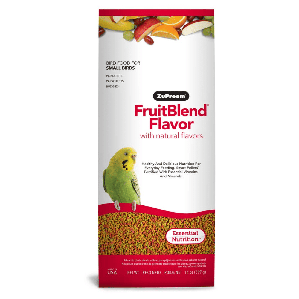 Zupreem Fruit Blend Bird Food for Small Birds