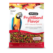 Zupreem Fruit Blend Bird Food for Large Birds