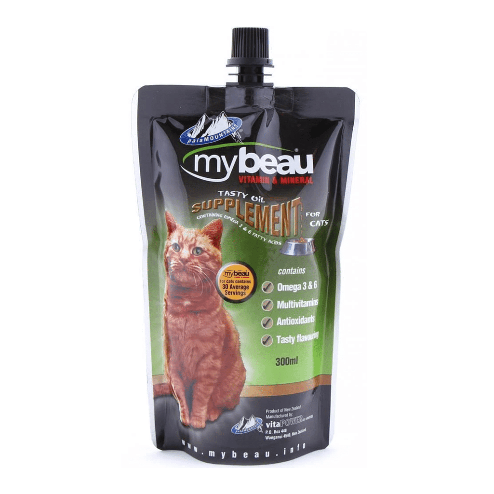 My Beau Cat Supplement - Vitamins & Minerals 300ml